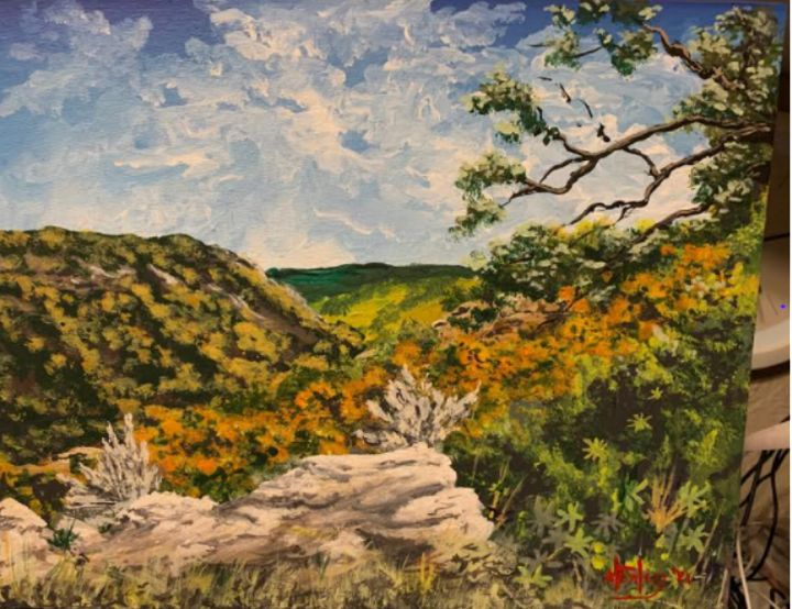 Way out there - Southwestern Paintings by David