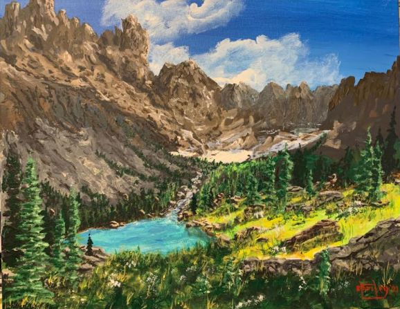 Oh, Montana - Southwestern Paintings by David