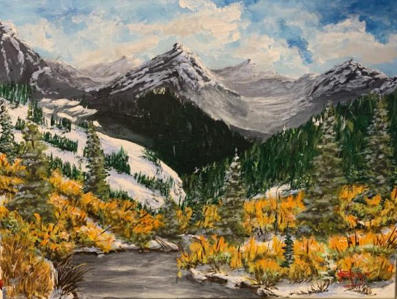 The Far Country - Southwestern Paintings by David