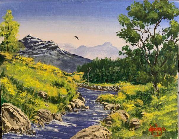 Serendipity - Southwestern Paintings by David