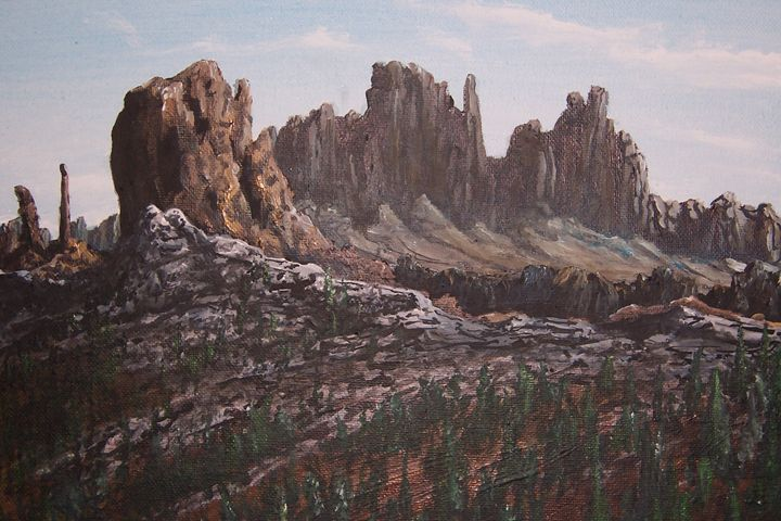 Rough Country - Southwestern Paintings by David
