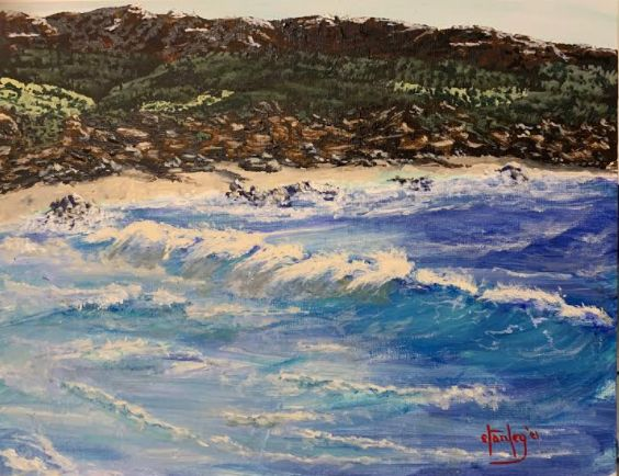 More of that great California surf - Southwestern Paintings by David