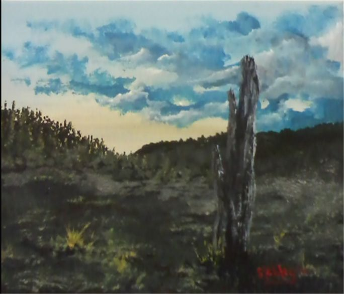 September Song - Southwestern Paintings by David