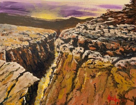 Canyonlands - Southwestern Paintings by David
