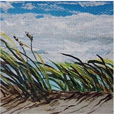 A Beach Breeze - Southwestern Paintings by David