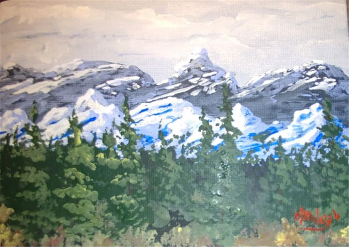 Far Peak - Southwestern Paintings by David