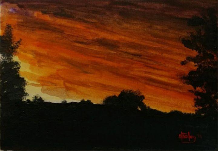 Under Texas Skies - Southwestern Paintings by David