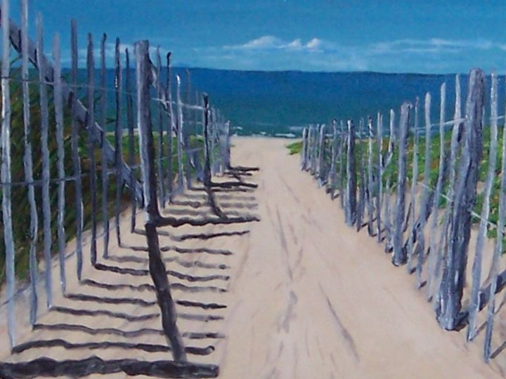 My Secluded Beach - Southwestern Paintings by David