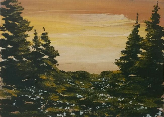 The Gloaming - Southwestern Paintings by David
