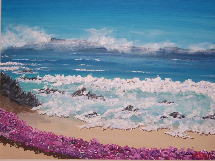 A Day In Pacific Grove - Southwestern Paintings by David