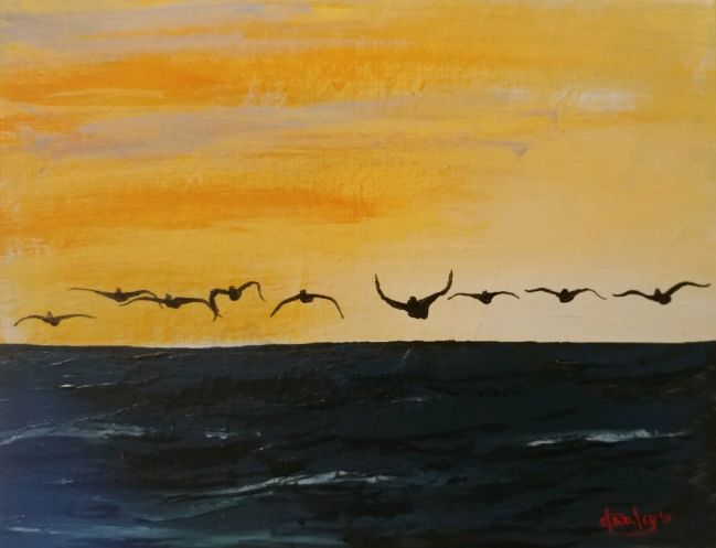 Inbound - Southwestern Paintings by David