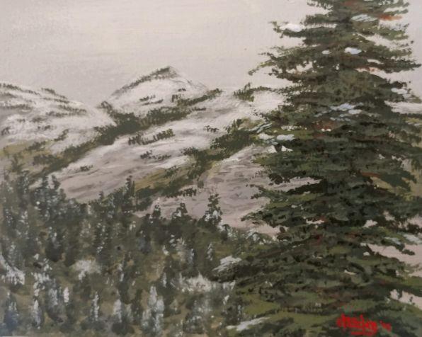 As seasons change - Southwestern Paintings by David