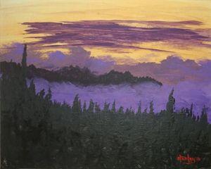 Palomar dusk westward