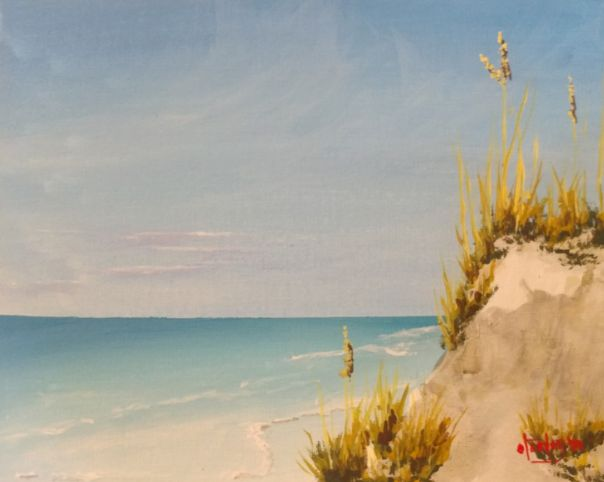 Gulf of Mexico afternoon - Southwestern Paintings by David