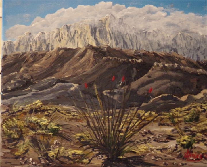 Guadalupe Mountains, West Texas - Southwestern Paintings by David