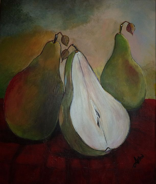 Just Us Pears - Arlen's Art