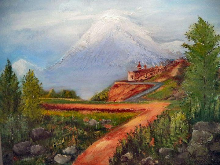 The Mountain - Arlen's Art