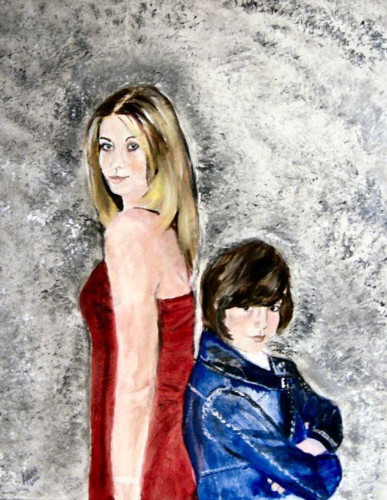Sisters - Arlen's Art