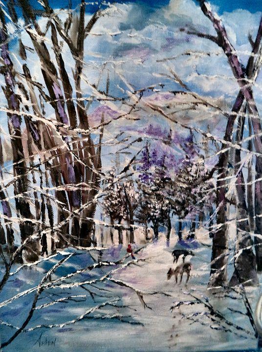 Christmas Snow - Arlen's Art