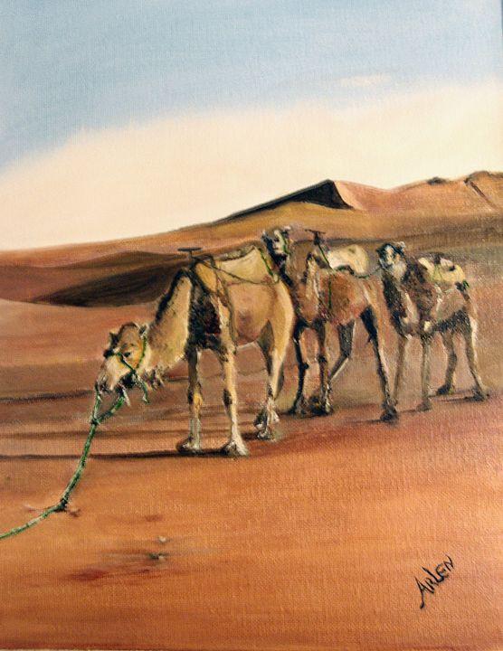 Just Us Camels - Arlen's Art