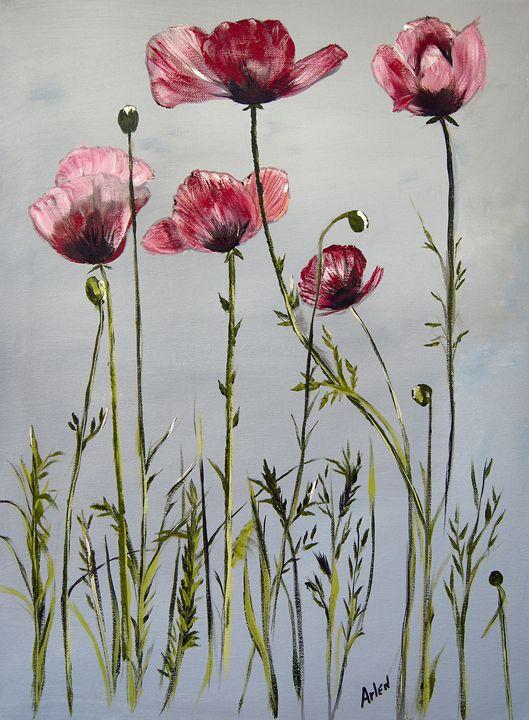 Poppies - Arlen's Art