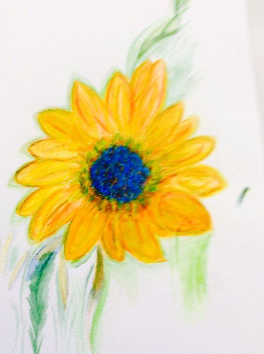 Summer flower. - Glennis Cane