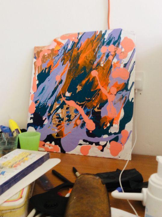My studio. - Glennis Cane