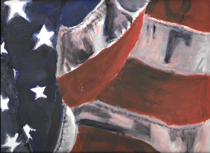 Flag - Maria's work