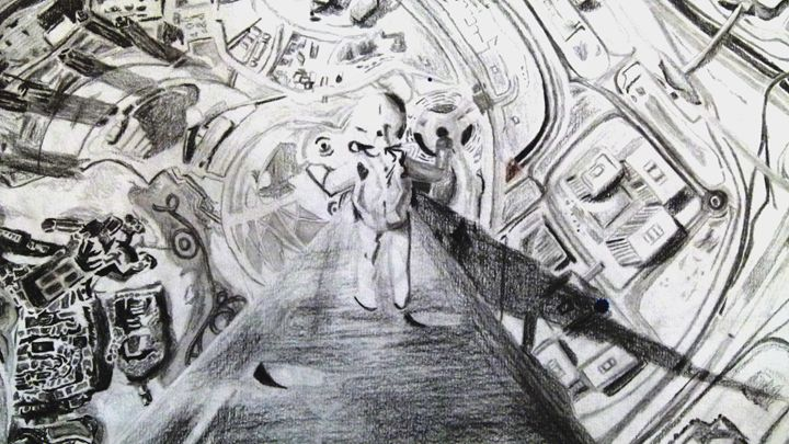 Spaceman - Maria's work