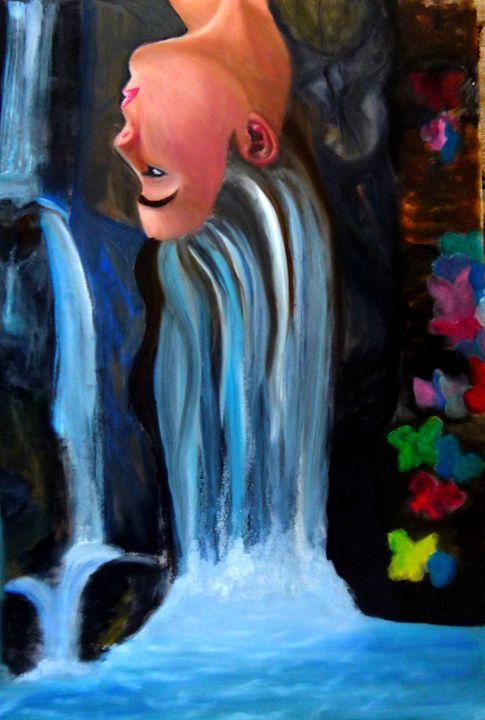 Girl's a waterfall - Maria's work