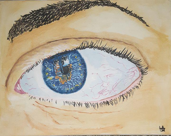 imperfect eye - Lidiya Alemayehu