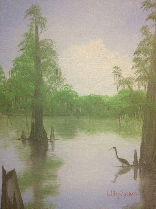 Back water bird - Wiley Spears