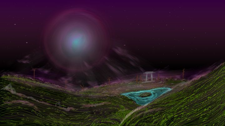 Minimalistic Landscape - JDupon