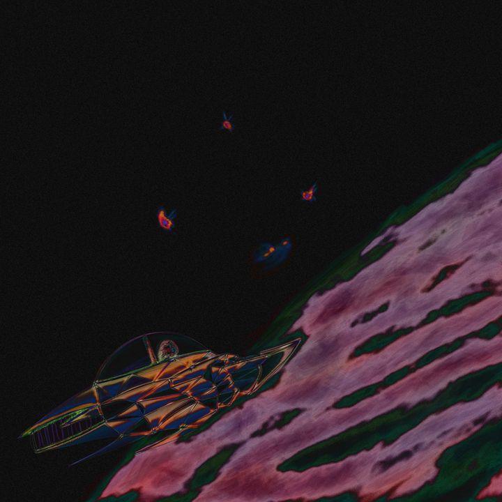 Retro Space Invasion - JDupon