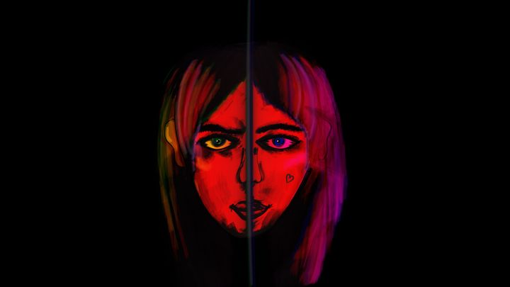 Girl in the red light - JDupon