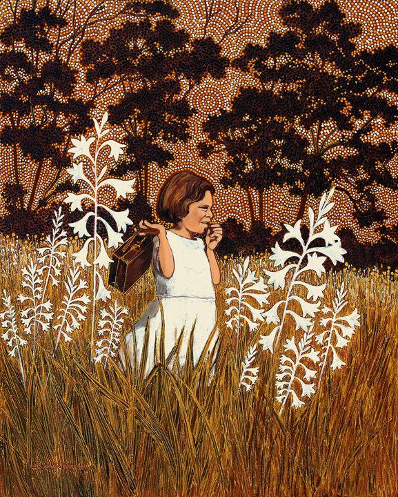 MY FAMILY & SAVIOURS (AMURRU-MARTU) - Sally Harrison's Dot Paintings