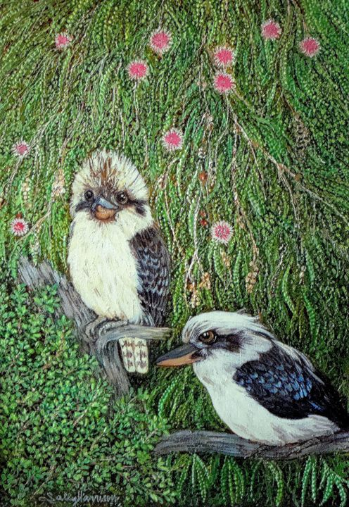 GUGUBURRAS & GUD-EA/GUTEN-GOTT - Sally Harrison's Dot Paintings