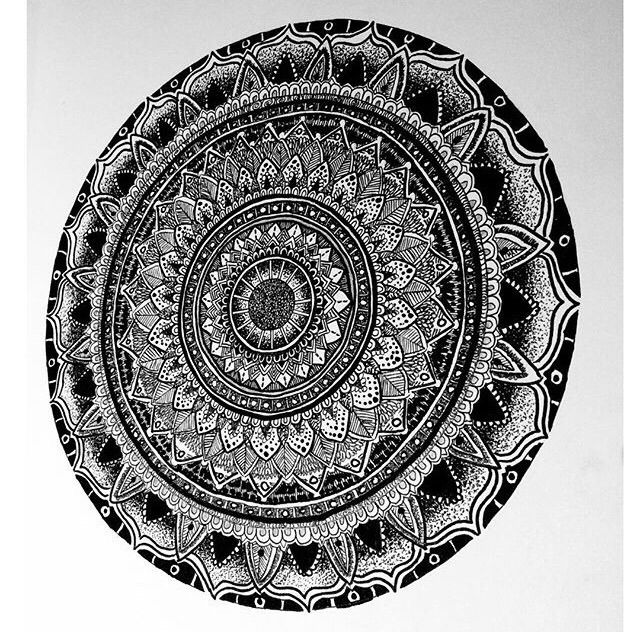 African mandala - Yaseeny15