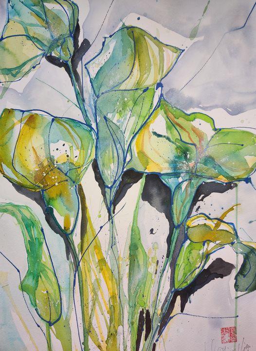 Lilies - Joel Liao
