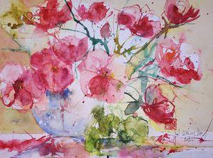 Flowers in vase - Joel Liao