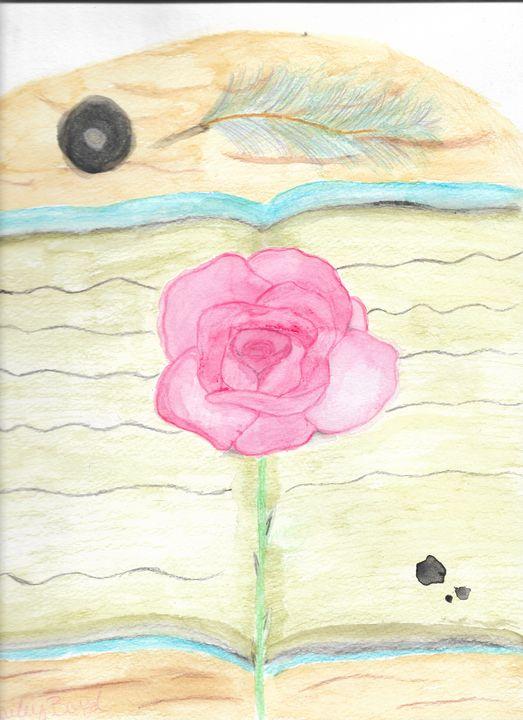 Rose Bookmark - Hailey Boyd