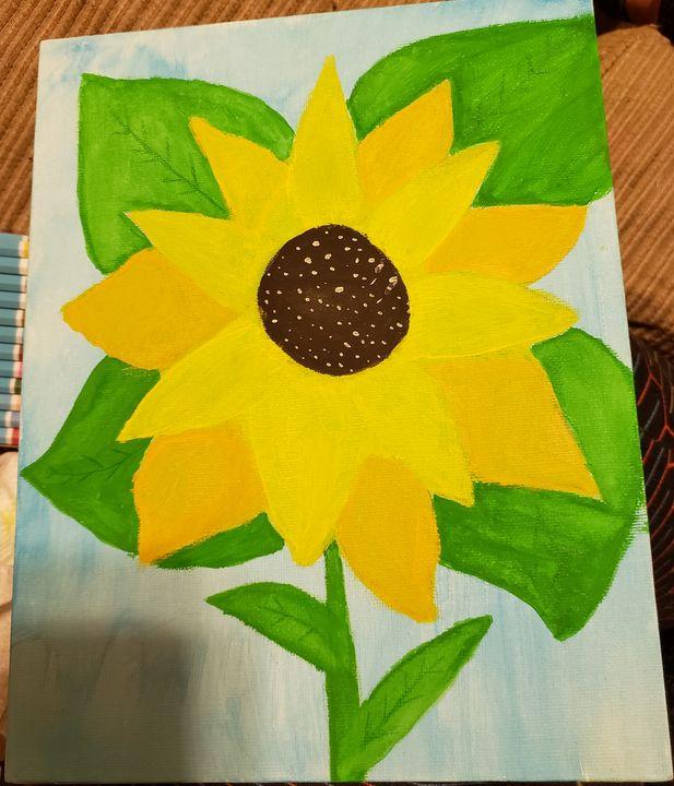 Vibrant sunflower - Hailey Boyd