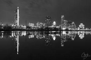 Austin, TX Cityscape Night
