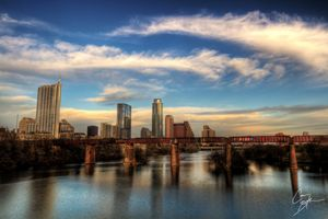 Austin HDR Sunset