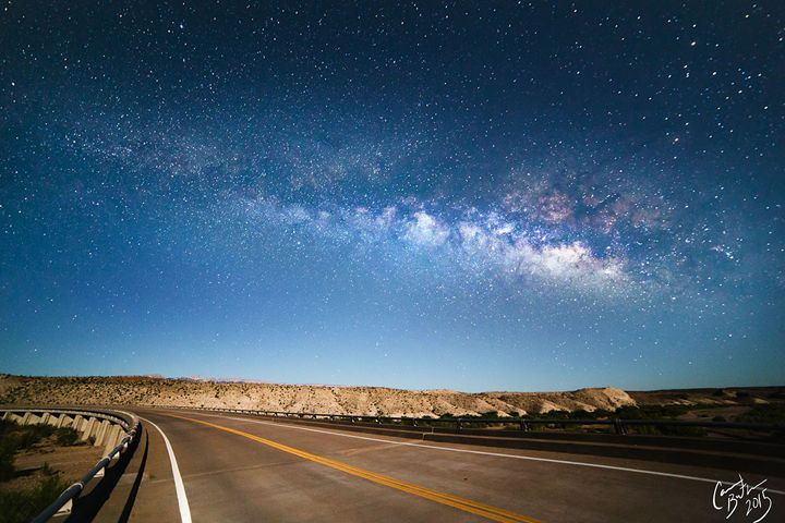 Big Bend Milky Way - Cameron The Photographer