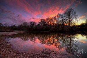 McKinney Falls Sunset