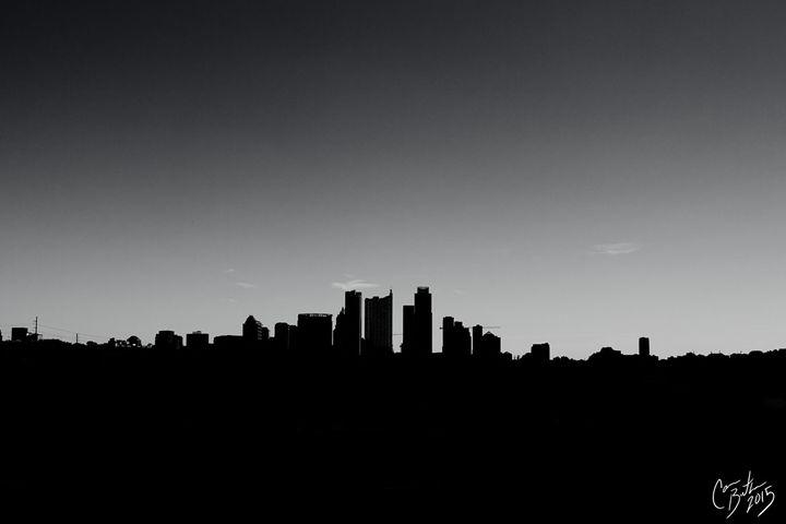 Austin Silhouette - Cameron The Photographer