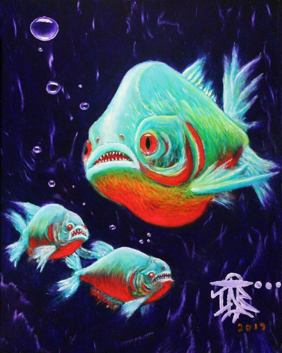 Pretty fishy - Israel Boring Art