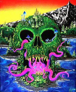Pnw sugar skull.