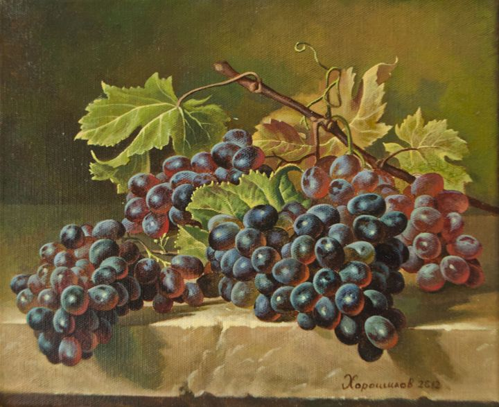 Grapes - Oleg Khoroshilov